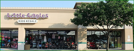 Little Giggles REsale Store Located in Arlington, Texas